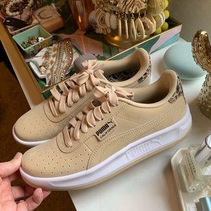 Leopard beige puma sneakers